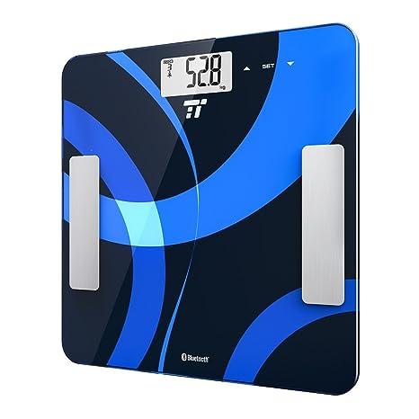 TaoTronics 2 x Smart báscula de baño, Cuatro sensores de precisión Home baño Peso Escala