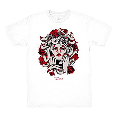 6f4e522b2b1 Platinum Tint 11 Medusa White Shirt to Match Jordan 11 Platinum Tint  Sneakers (Small)