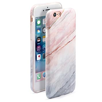 4.7 iPhone 6 6S SGSELLER TPU IMD Ajustada Ultra-Delgada Resistente a los arañazos a prueba de choques a prueba de polvo Anti-huella digital Mate ...