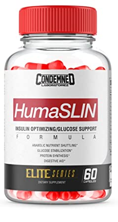 Condemned Labz, HUMASLIN, Glucose Disposal, Carb-Compliment, Limit Fat Gain Supplement – 60 Capsules