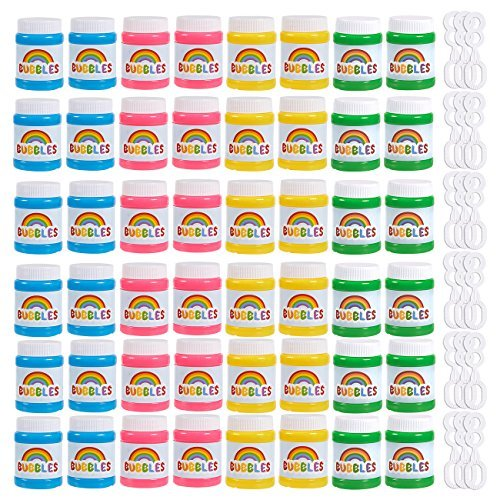 Happy Birthday Bubbles Bottle, Assorted Color, Mini 1.69