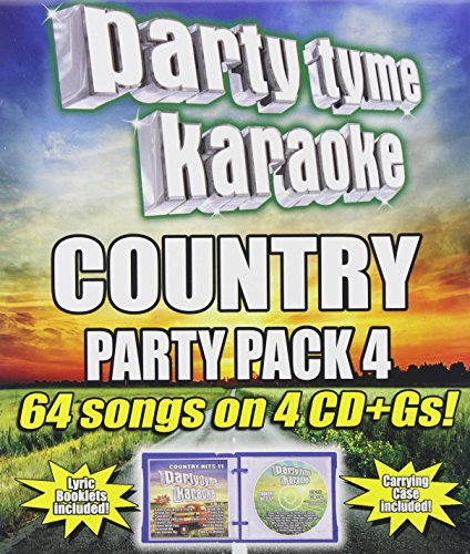 Party Tyme Karaoke - Country Party Pack 4 (4PC)