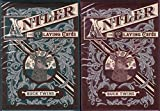 Antler 2 Deck Set Playing Cards Poker Size USPCC Dan & Dave Buck Twins Custom