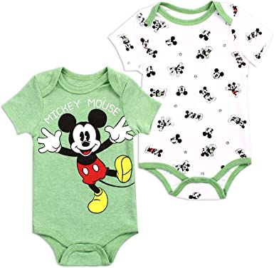NEW KIDS BOYS INFANT MICKEY MOUSE BEACH BODYSUIT AND SHORTS SIZE 0//3M 3//6M MONTH