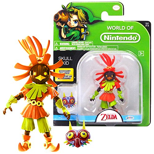 (Legend of Zelda World of Nintendo Year 2016 The Series 4-1/2 Inch Tall Figure - SKULL KID with Mask)