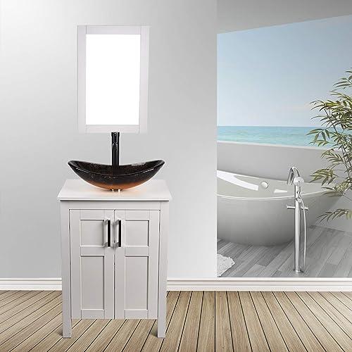 24″ Bathroom Vanity and Sink Combo