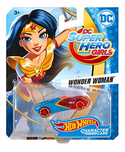 Hot Wheels DC Comics Superhero Girls Wonder Woman Vehicle
