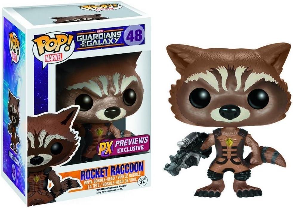 Funko Pop! Guardians of The Galaxy: Ravager Rocket Raccoon Vinyl Figure: Toy: Amazon.es: Juguetes y juegos