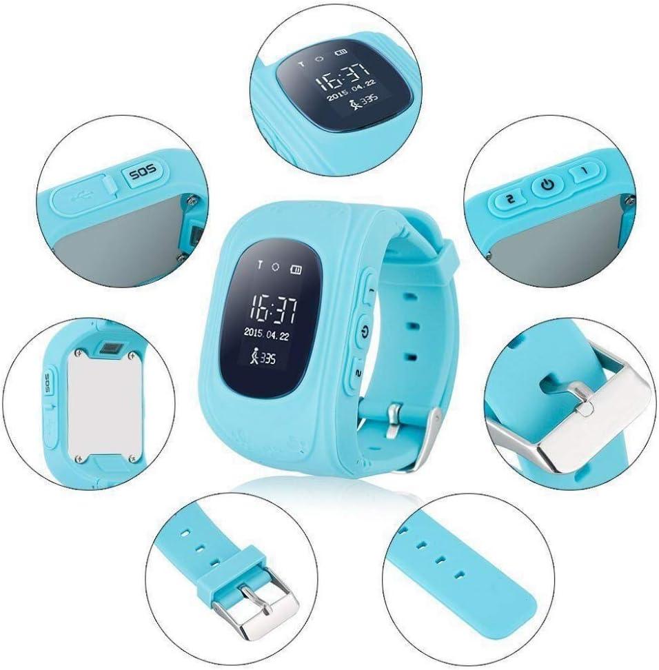 PromoTech GPS Tracker Telefon Kinderuhr- Kleiner Frosch ohne ...