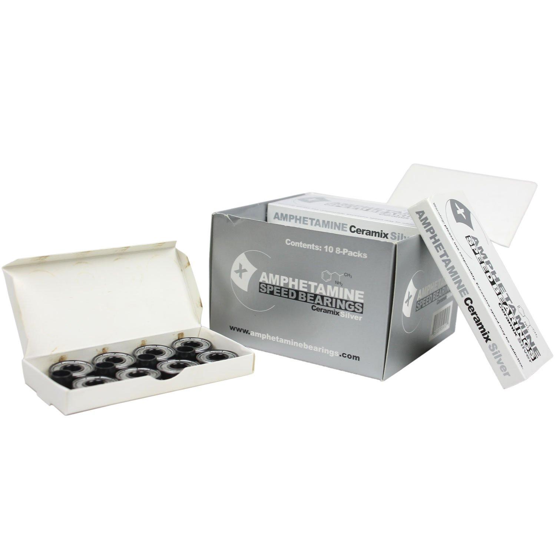 Amphetamine Ceramic Silver Bearings Packaged (Box of 10)