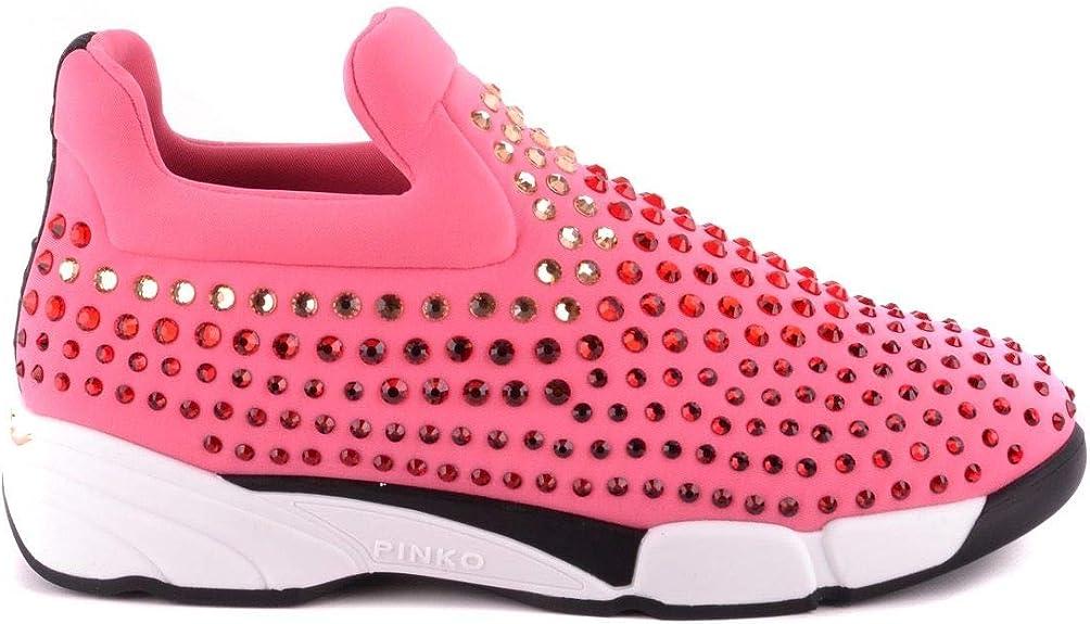 Luxury Fashion | Pinko Mujer MCBI29842 Rosa Zapatillas Slip-On | Temporada Outlet: Amazon.es: Zapatos y complementos