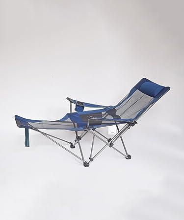 Liegestuhl Camping.Amazon De Qiangda Faltbar Strandstuhl Dual Use Camping