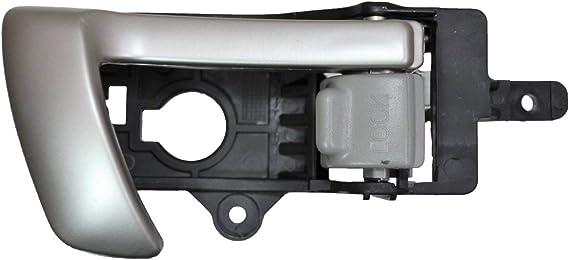 Door Handle Outside Chrome /& Black Front LH or RH for 07-12 Santa Fe
