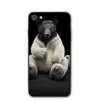 Amazon Com Bear Funny 4k Ultra Hd Wallpaper Iphone 7 Case Iphone 8