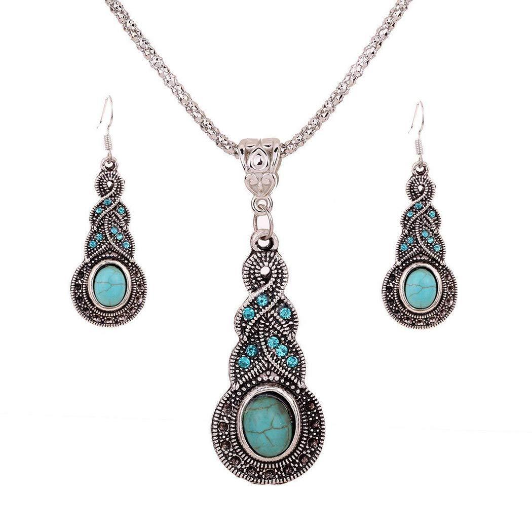 Nurbo Retro Turquoise Jewelry.