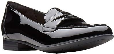 92d0a72f38c Image Unavailable. Image not available for. Color  CLARKS Women s Un Blush  Go Black Patent Leather ...