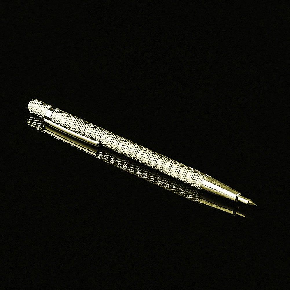Plateado Dorado JOYKK Marcador de Punta de Acero de tungsteno Marcado Herramientas de Grabado Letras de Concha met/álica