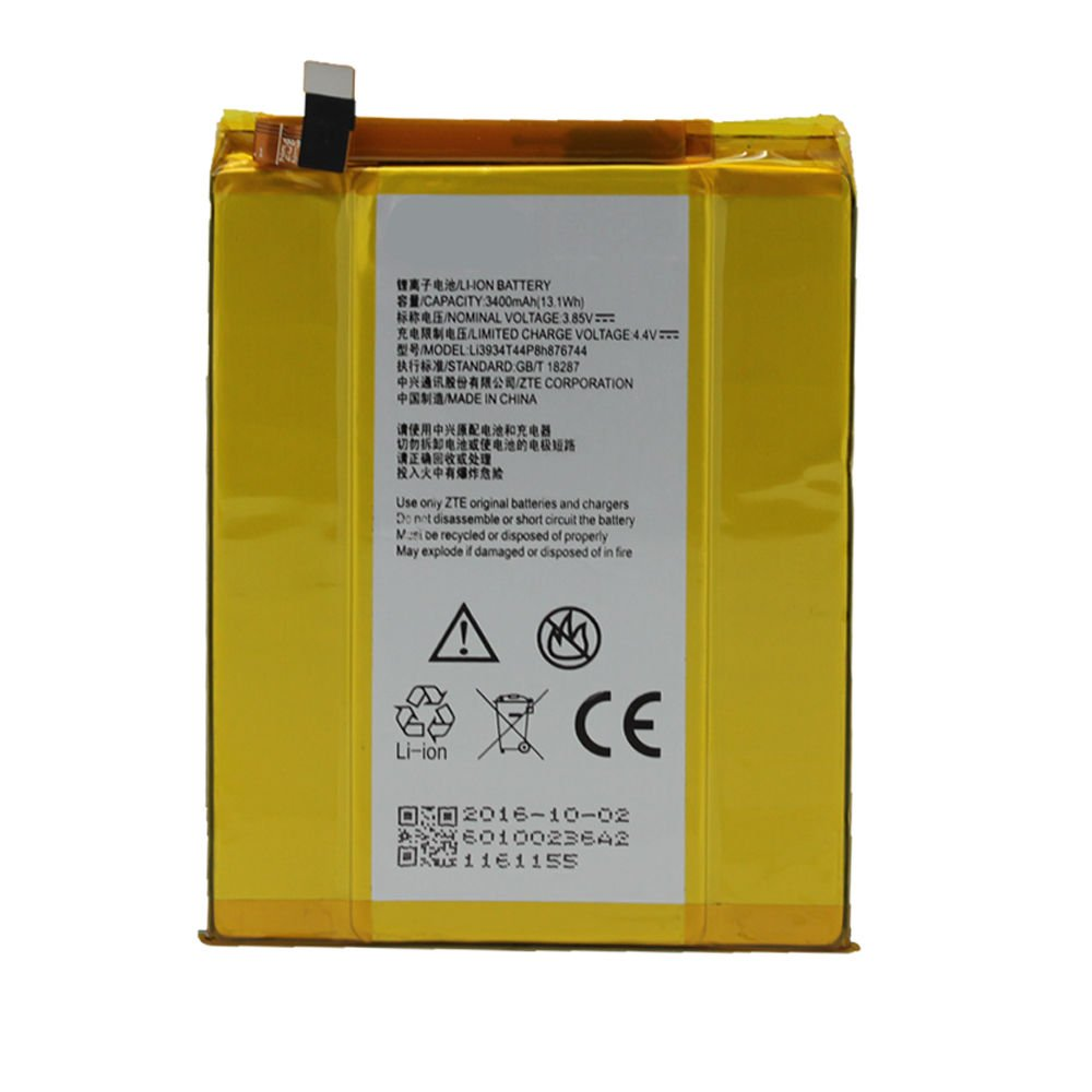 NEW REPLACEMENT LI3934T44P8H876744 BATTERYT FOR ZTE GRAND X MAX 2 Z988/ZTE ZMAX PRO Z981