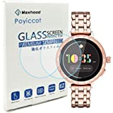 Poyiccot for Kate Spade Scallop 2 2019 (42mm) Screen Protector, 0.3mm Ultra-Thin 9H Hardness Anti-Fingerprint Tempered Glass Screen Protector for Kate Spade Scallop 2 KST2008/2009/2010 Smartwatch