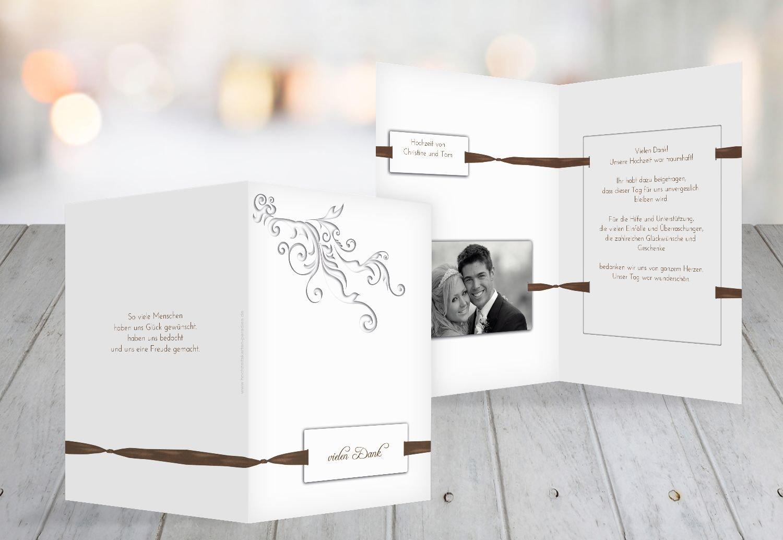 Kartenparadies Danksagung für Hochzeitsgeschenke Hochzeit Dankeskarte loop label, hochwertige Danksagungskarte Hochzeitsglückwünsche inklusive Umschläge   10 Karten - (Format  105x148 mm) Farbe  DunkelGelb B01N9U9EJF | Erste Gruppe von