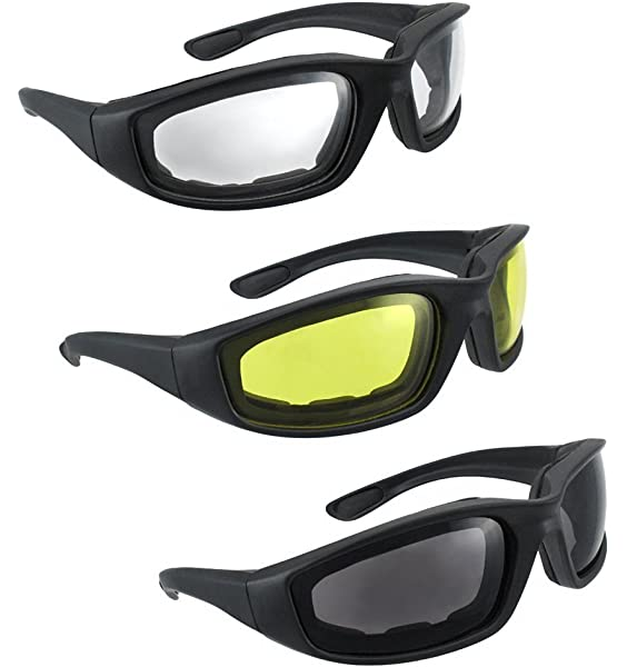 Motorcycle Glasses Windproof Dustproof Eye Glasses Goggles Outdoor Glasses T+