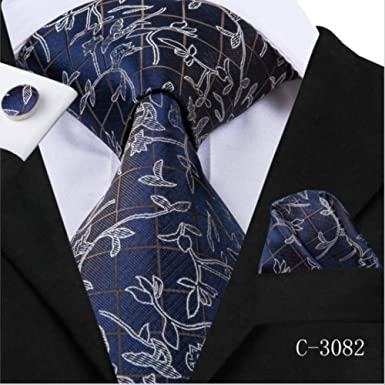 YiJiaMei Seda Hombre Tie Set Novedad Sweety Lovely Style Tie ...
