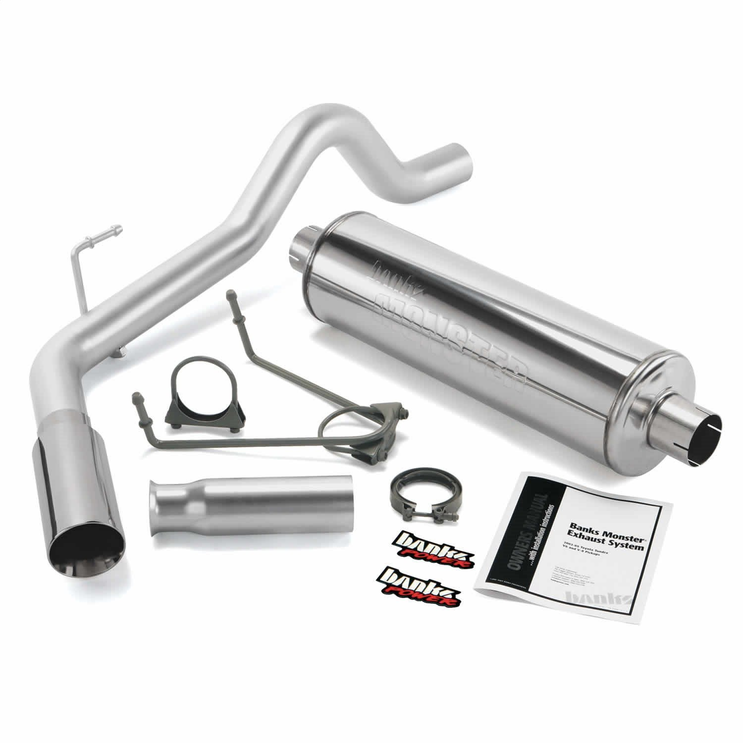 1. Banks 48130 Monster Exhaust System