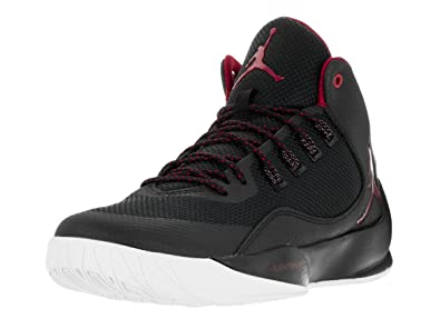 NIKE Jordan Rising High Mens Basketball Shoes (11 D(M) US, Black