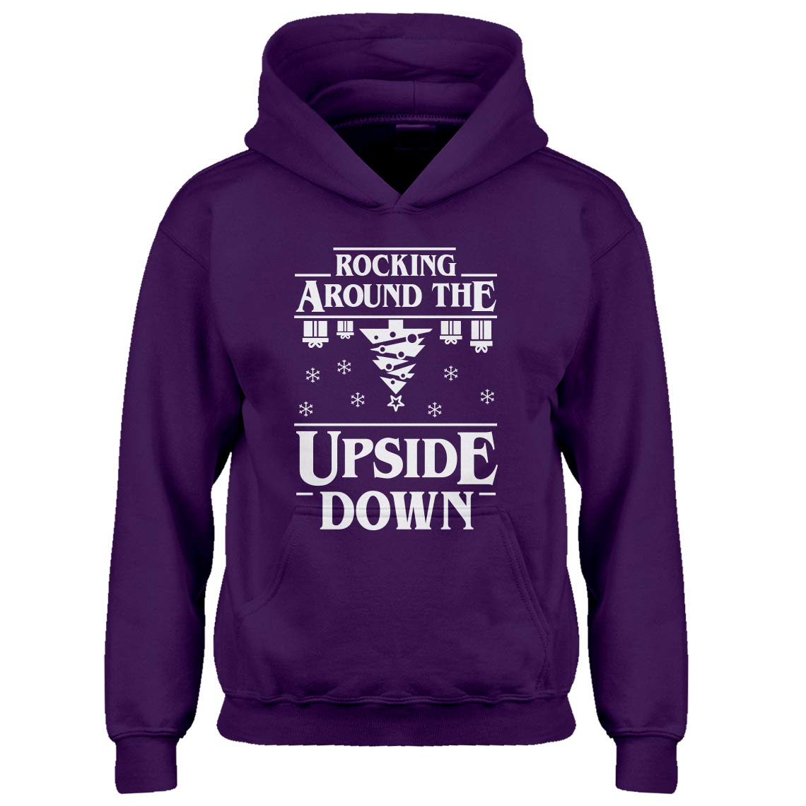 Indica Plateau Youth Rocking Around The Upside Down Kids Hoodie