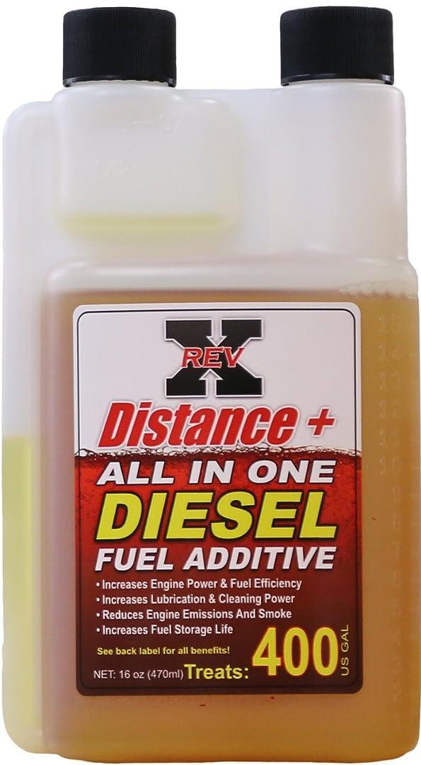 Rev-x DIS1601 Distance + Fuel Additive, 16 oz (Diesel, Treats 400 Gallons)