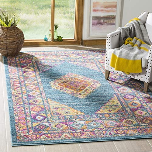 Safavieh Rug, 8 x 10 , Light Blue