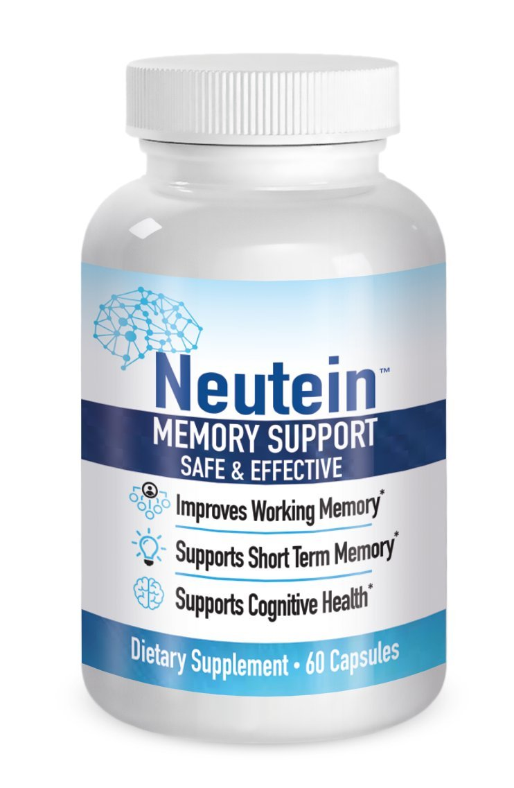 Neutein Natural Memory Support, PhD Formulated Cognitive Health Support 60 Caps