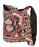 Tribe Azure Hobo Oversize Shoulder Bag Messenger Crossbody Aztec Purse Travel Shopping Beach Market Casual