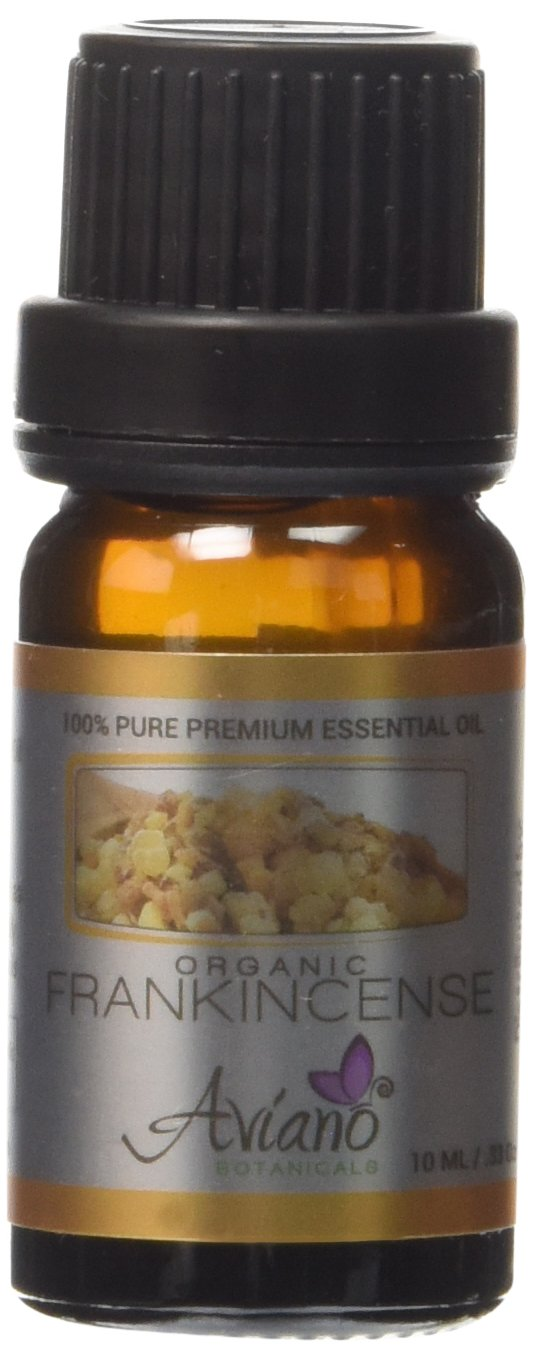 Organic Frankincense Essential Oil Ultra Premium 100% Pure Therapeutic Grade Sweet Boswellia Sacra - Very High Potency, Undiluted w/ Euro Dropper By Avíanō Botanicals - 10ml