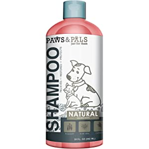 Natural Oatmeal Dog-Shampoo and Conditioner - 20oz Medicated Clinical Vet Formula Wash for All Pets Puppy & Cats