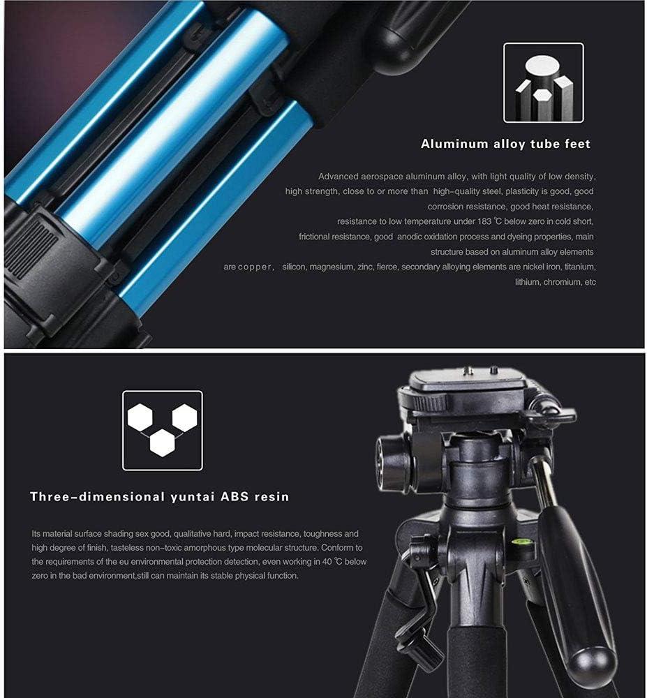 XLMart 55 Professional Aluminum Alloy Camera Tripod for DSLR Canon Nikon Sony DV Video and Smar