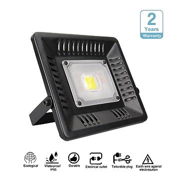 4000 Lumen LED Fluter Strahler Außenlampe Baulampe Bewegungsmelder 50W kaltweiß