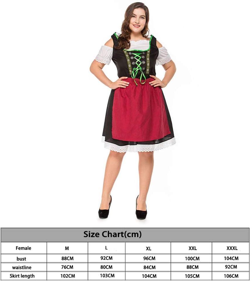 Disfraz de Oktoberfest de gran tamaño para mujer, disfraz de ...