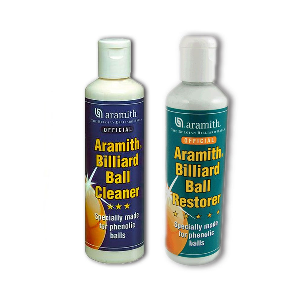 ARAMITH POOL,SNOOKER + BILLIARD BALLS RESTORER+ CLEANER** SGL