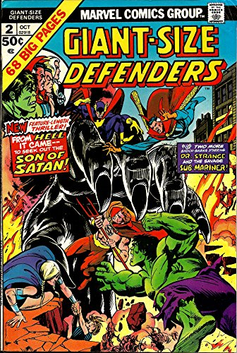 Giant-Size Defenders #2 (H...As in Hulk...Hell...And Holocaust!)
