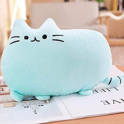 Almohada de felpa para bebé con diseño de gato gordo, para ...