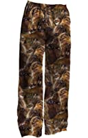 Star Wars Chewbacca Chewie Faces Adult Pants