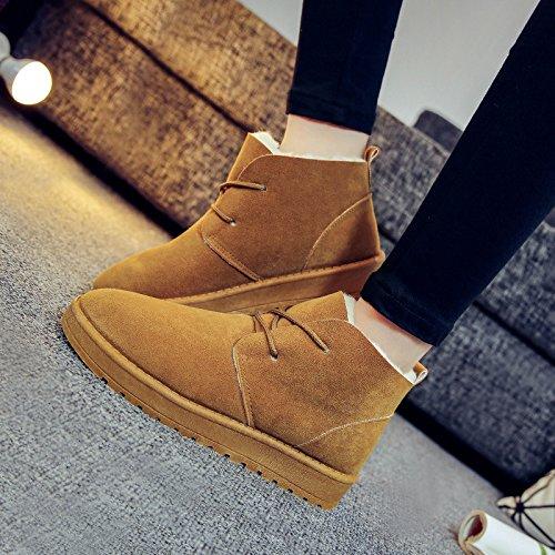 Stivali Stivali Stivali Scarpe 120W Caldi Piatto Stivali Nuovo Skid Casual XIE XIE XIE XIE Neve ColorName Inverno 39 Fondo Donna KHAKI q8Z14Pw