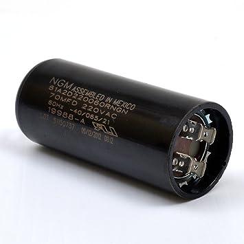 garage door capacitorGenie 19988AS Garage Door Opener Motor Start Capacitor   Amazoncom