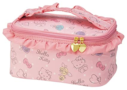 756e8e7d77 Image Unavailable. Image not available for. Color  Skater fluffy vanity pouch  Hello Kitty pouch purse Sanrio KBNF1