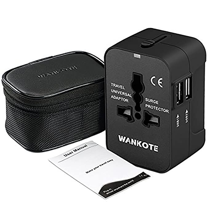 Review Travel Adapter Universal WANKOTE