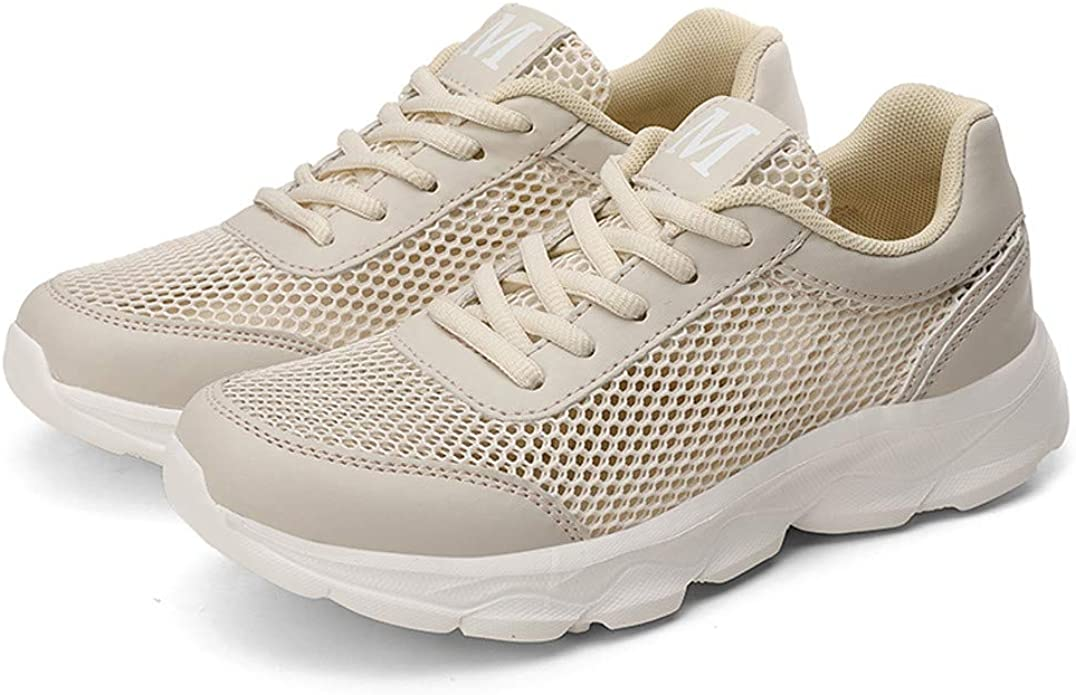 Zapatillas Deportivas De Mujer Ligeras Y C/óModas Malla Plataforma Zapatos Sneakers Running Casual 2019 con Cordones Baratas Deportivo Calzado Baohooya
