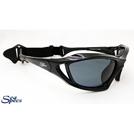 650b48429c Image Unavailable. Image not available for. Color  Seaspecs Stealth  Floating Sunglasses - Black