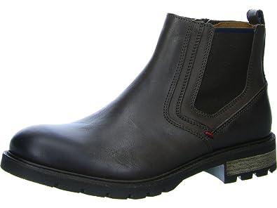 Herren Schuhe Glattleder Tommy Hilfiger Boots CURTIS
