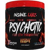 Insane Labz Hellboy Edition, High Stimulant Pre Workout Powder NO Booster with Beta Alanine, L Citrulline, and Caffeine…